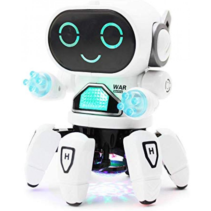 Ρομπότ για Παιδιά με Φώτα & Ήχους - Λευκό