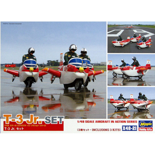 T-3 Jr. Set 3 Sets with Figures