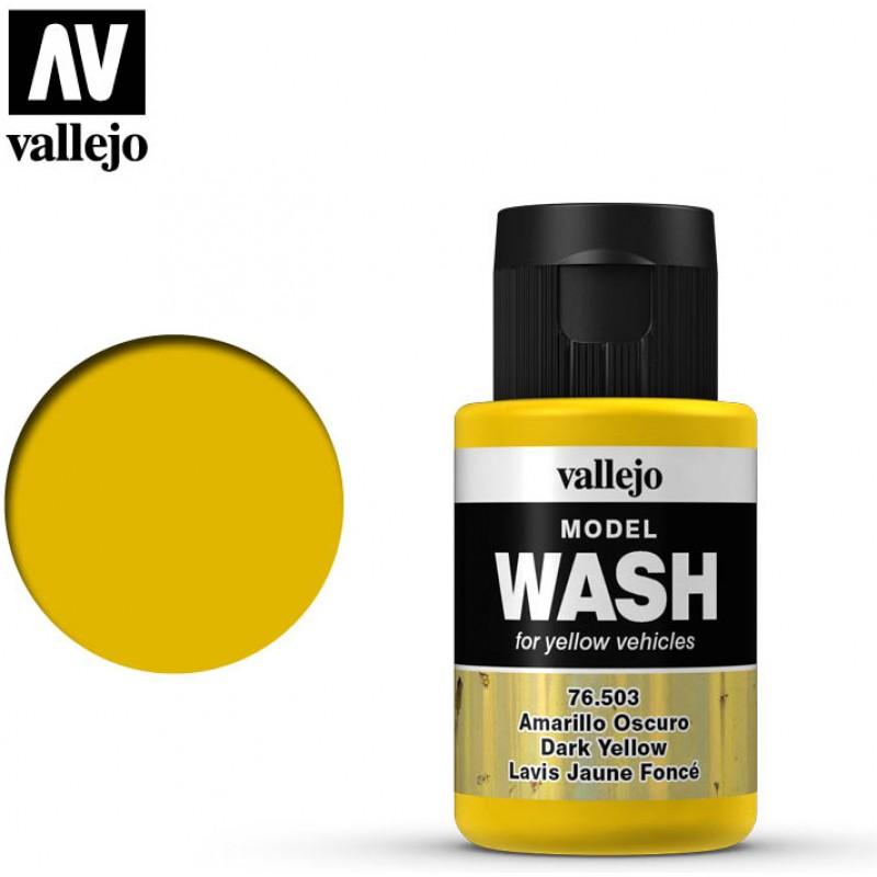 Vallejo Model Wash Dark Yellow 76.503