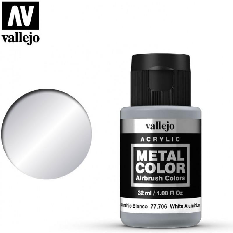 Vallejo White Aluminum 77706