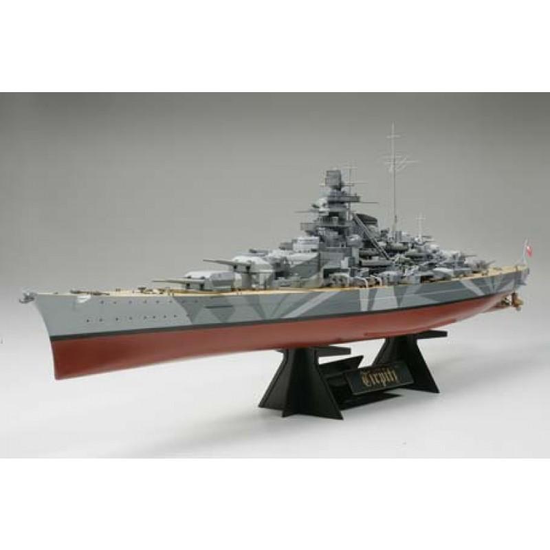 tamiya tirpitz german battleship