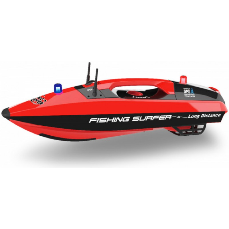 Fishing Surfer Bait Boat Radiocontrolled with GPS