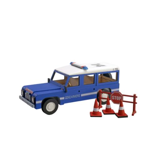 Ξύλινη Κατασκευή Αστυνομικό Όχημα