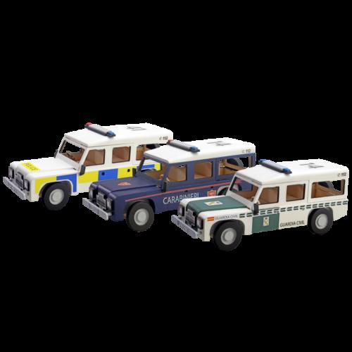 Ξύλινη Κατασκευή για Παιδιά Αστυνομικό Όχημα