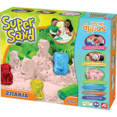 Μαγική Άμμος Super Sand Ζωάκια