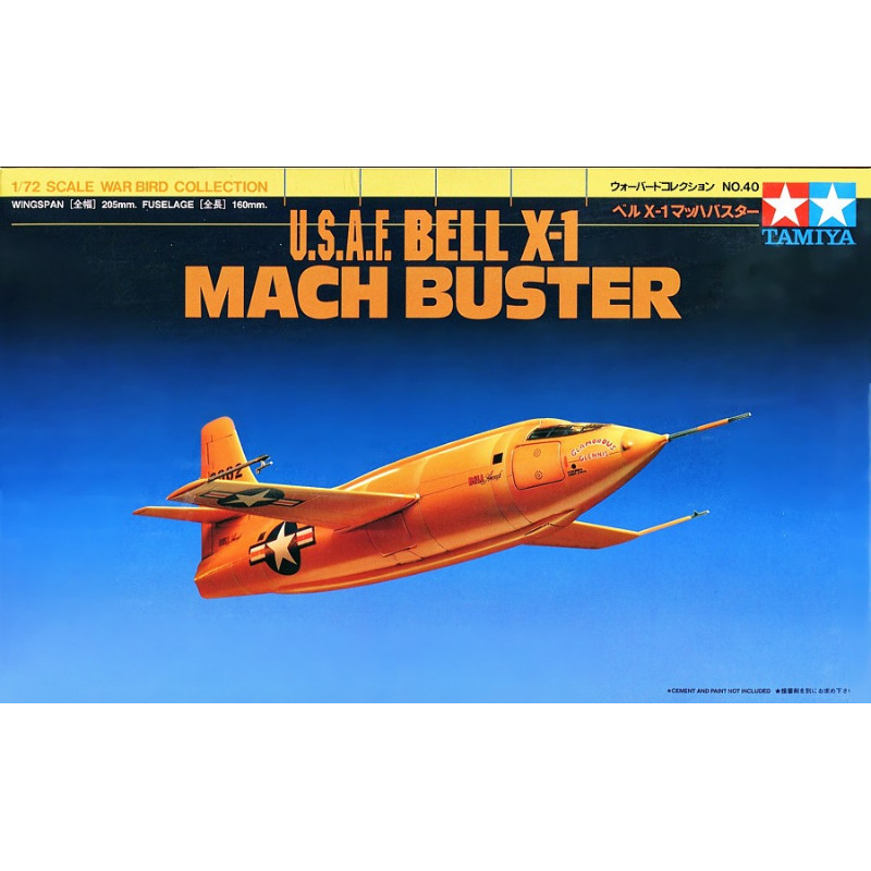 USAF Bell X-1 Mach Buster 1:72