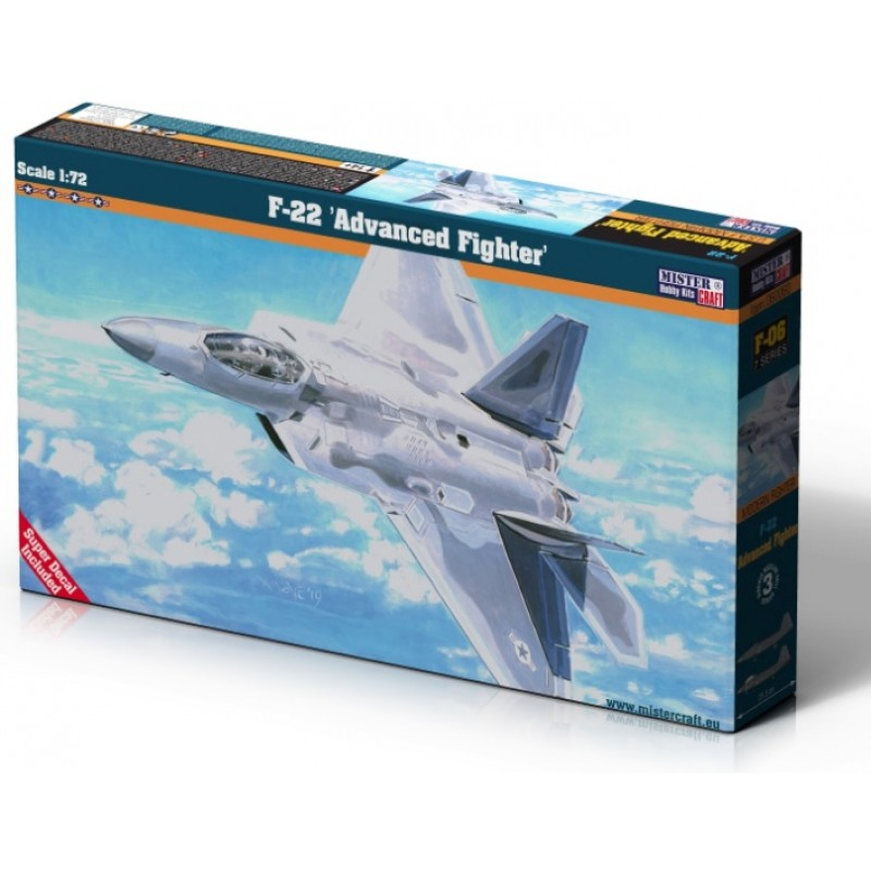 1:72 YF-22 Lightning II Mister Craft