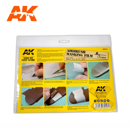 AK Interactive - Airbrushing Masking Film