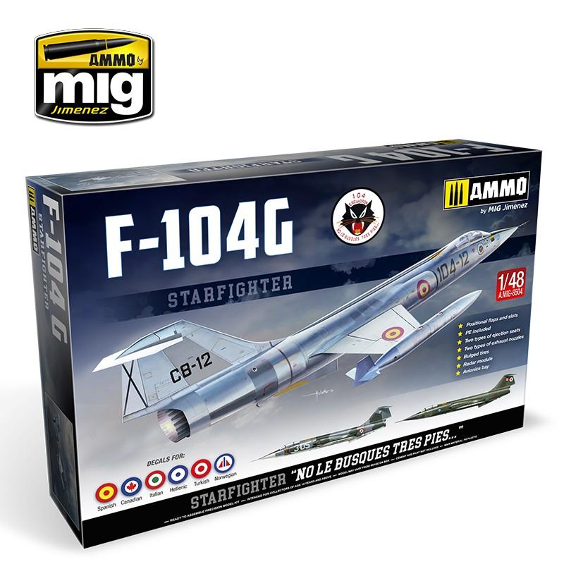 F-104G Starfighter 1:48