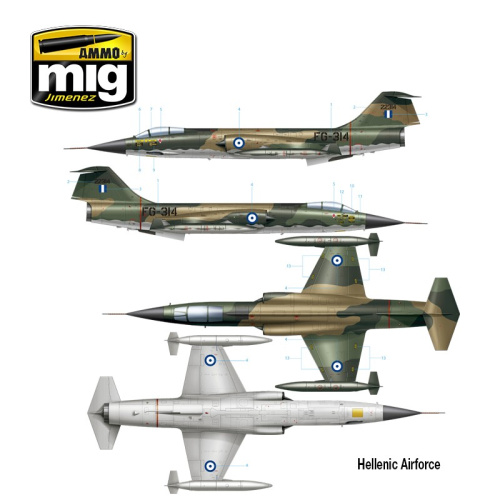 F-104G Starfighter Hellenic Air Force