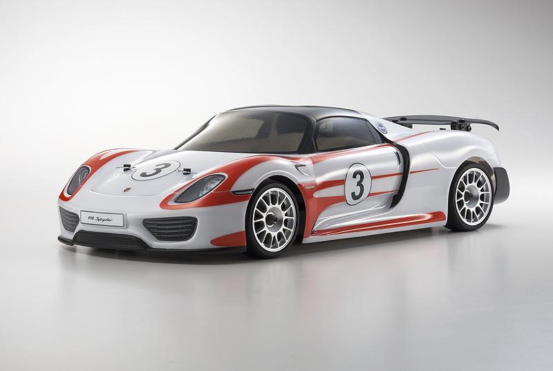 Fazer VE Porsche 918 Spyder Red RTR 1:10