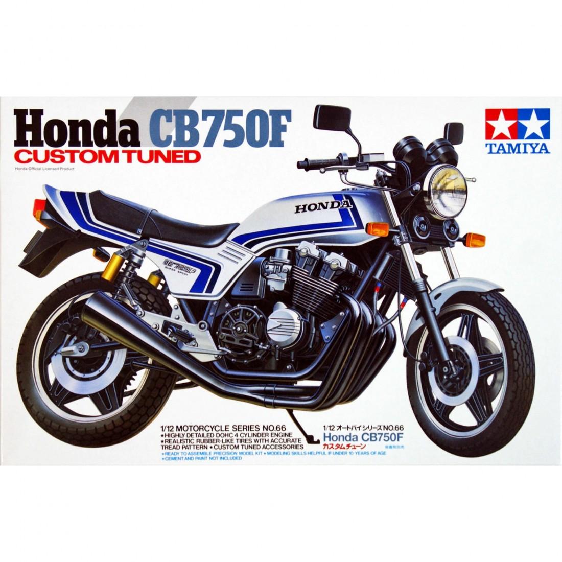 Honda CB750F Custom Tuned 1:12