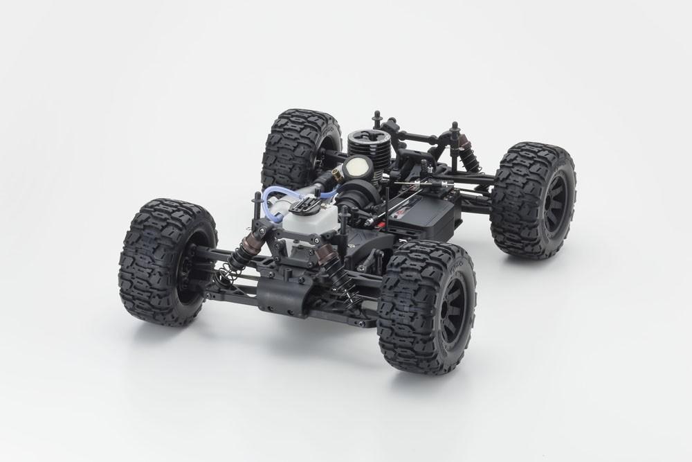 KYOSHO NITRO TRACKER 1:10 RC NITRO 4WD READYSET KE15SP ENGINE