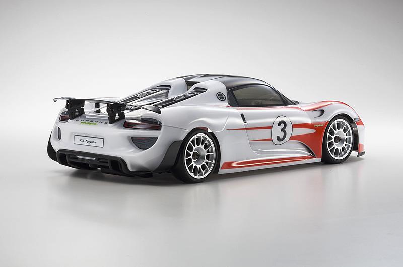 Τηλεκατευθυνόμεο Αυτοκίνητο Fazer VE Porsche 918 Spyder Red RTR 1:10