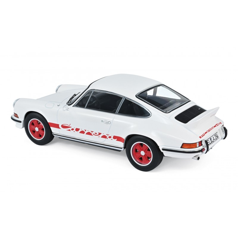Porsche 911 RS 1973 - White with Red Deco 1:18 Norev