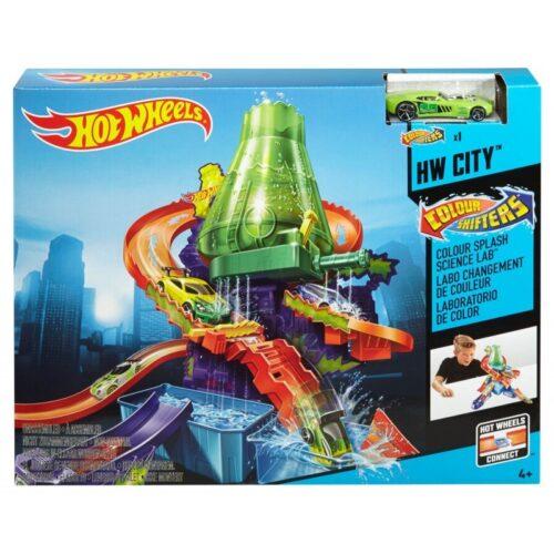 Εργαστήριο Χρωμοκεραυνών Hot Wheels Mattel