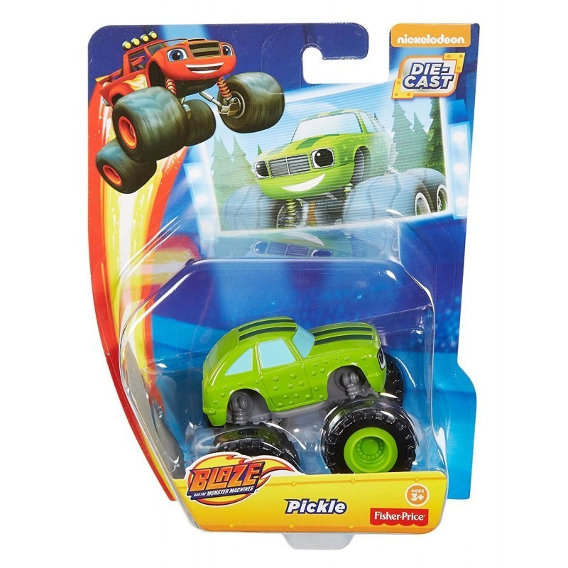 Hot Wheels blaze the monster machines pickle