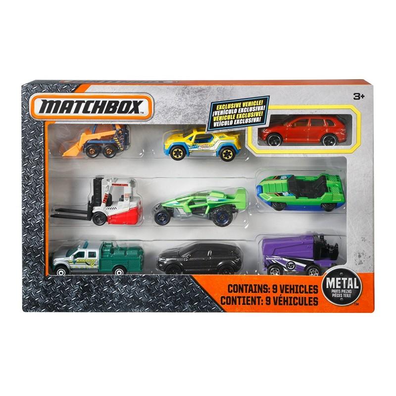 Matchbox Αυτοκινητάκια σετ των 9