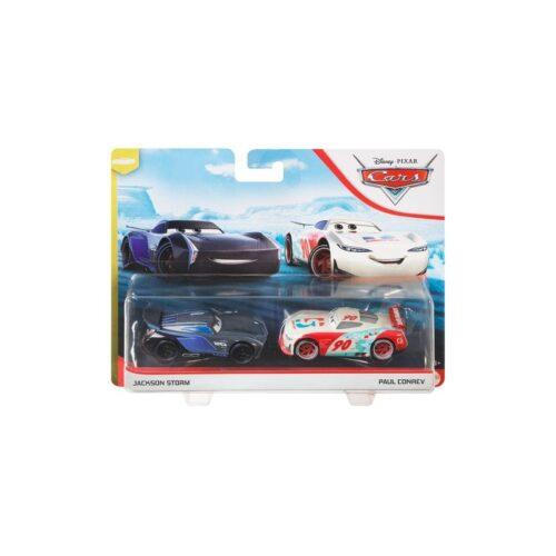 Mattel - Disney Pixar Cars 3 Μεταλλικά Αυτοκινητάκια Jackson Storm & Paul Conrev DXV99