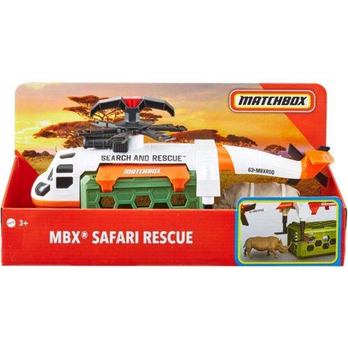 Σετ Διάσωσης Άγριων Ζώων με Ελικόπτερο