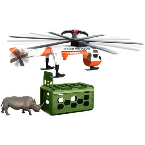 Σετ Διάσωσης Άγριων Ζώων με Ελικόπτερο safari