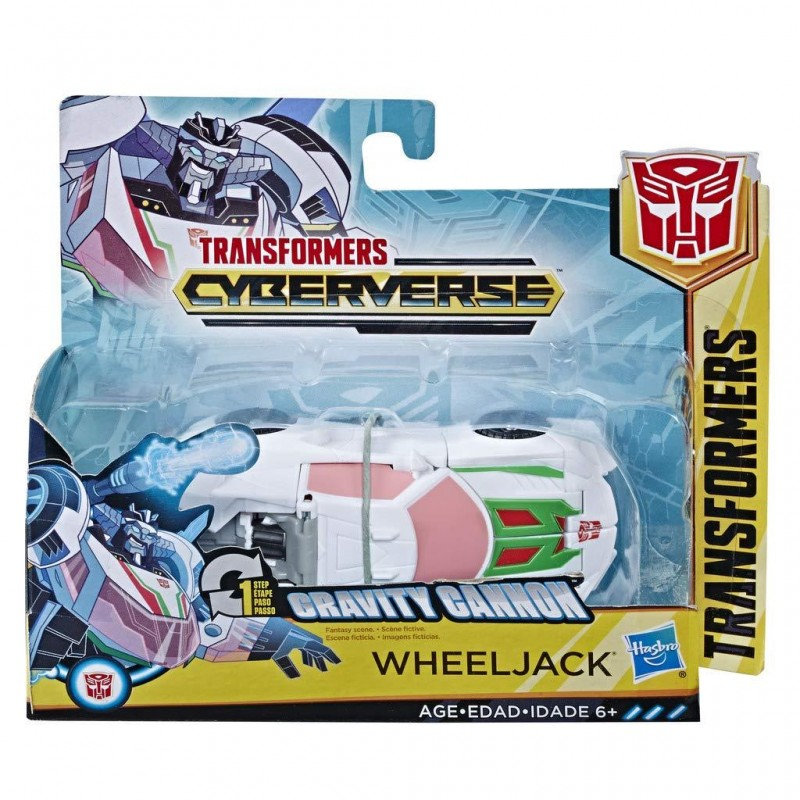 Hasbro - Transformers Cyberverse 1 Step Changer Wheeljack (E3522)