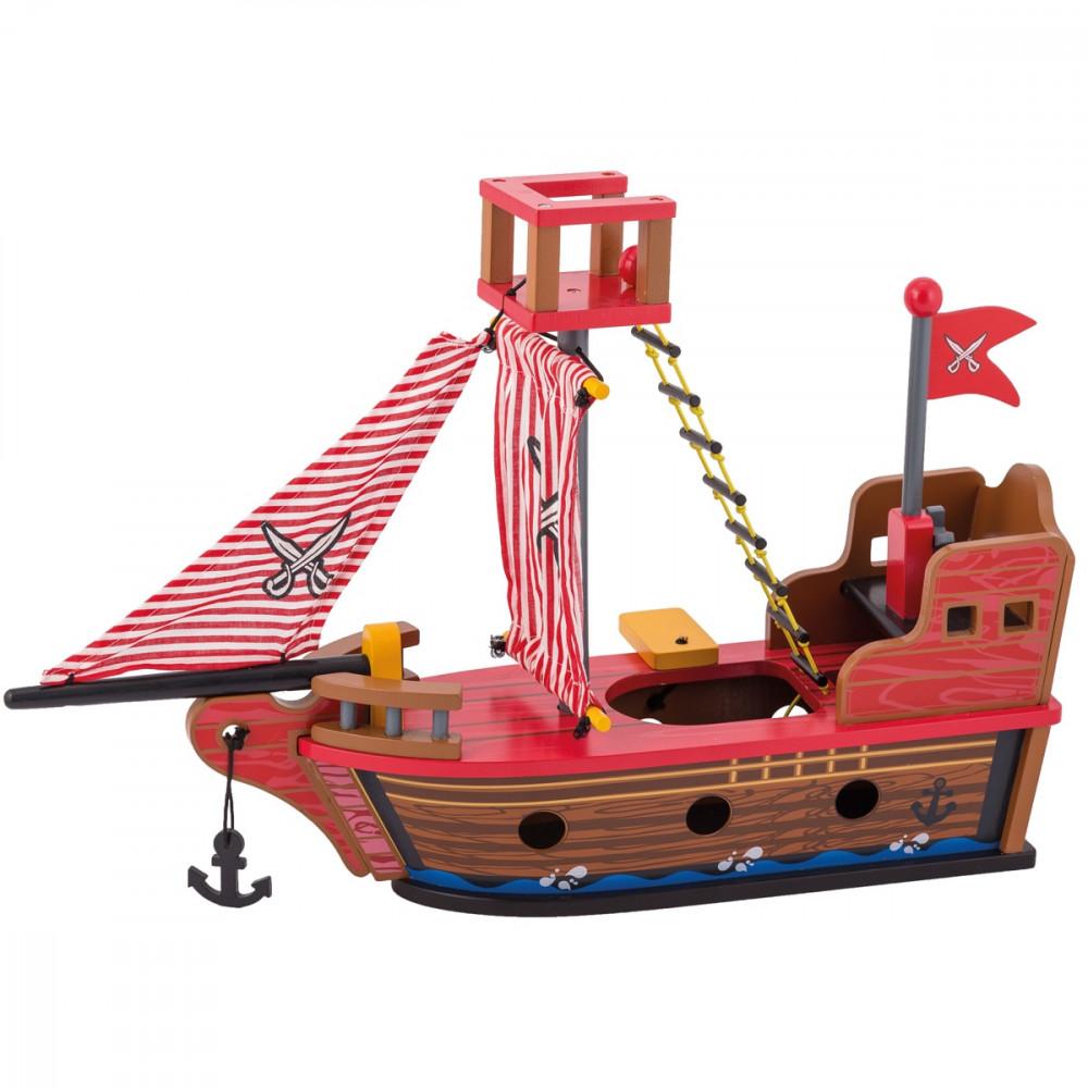 Joueco Πειρατικό Καράβι με Φιγούρες
