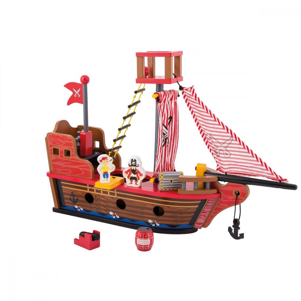 Ξύλινο Πειρατικό Καράβι Joueco
