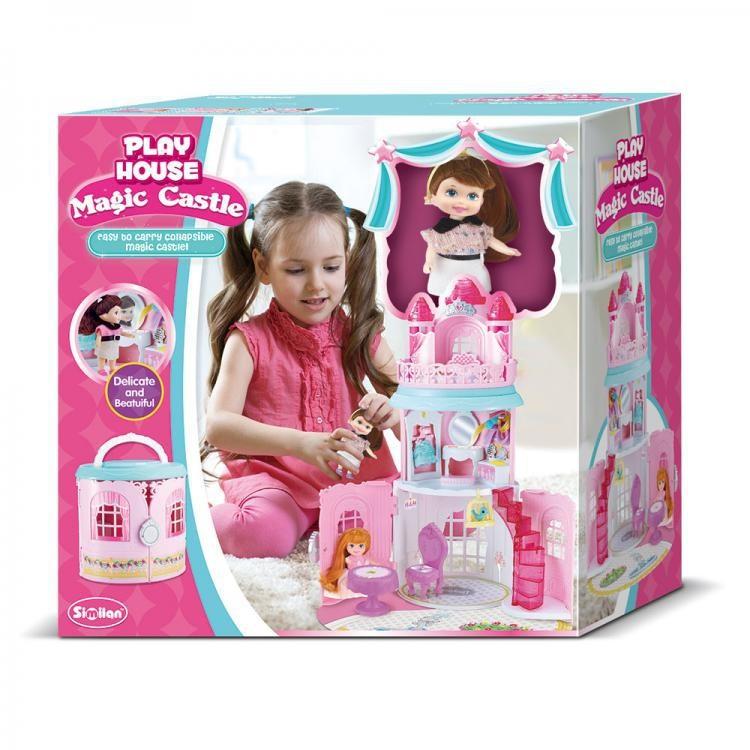 Super Set Μαγικό Κάστρο Playset με Κούκλα