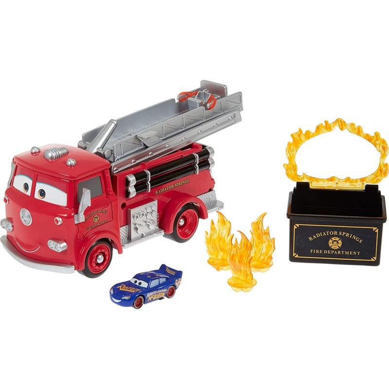 Disney Pixar Cars Stunt and Splash Πυροσβεστικό Ρεντ Κόκκινο