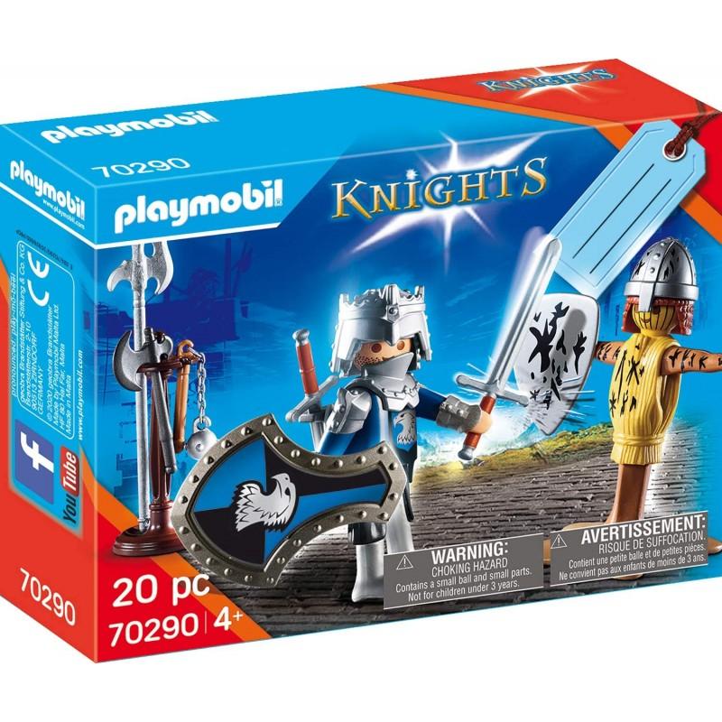 Playmobil Knights - Gift Set Ιππότης με Πανοπλία (70290)
