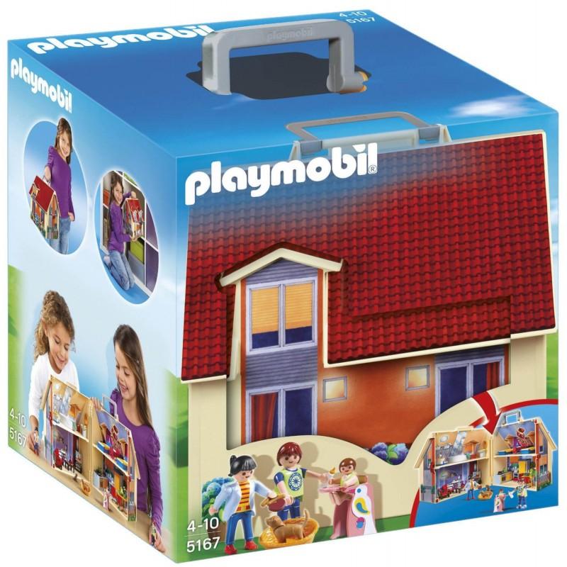 Playmobil Μοντέρνο Κουκλόσπιτο - Βαλιτσάκι (5167)