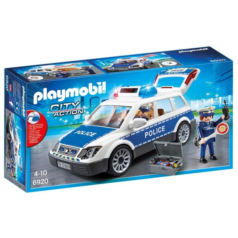 Playmobil City Action - Περιπολικό Όχημα με Φάρο και Σειρήνα (6920)