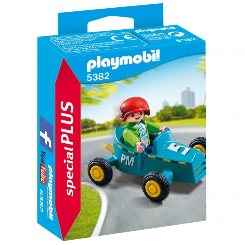 Playmobil Special Plus - Αγοράκι με Go-Kart (5382)