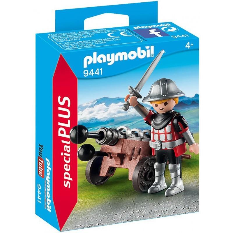 Playmobil Special Plus - Ιππότης με Κανόνι (9441)