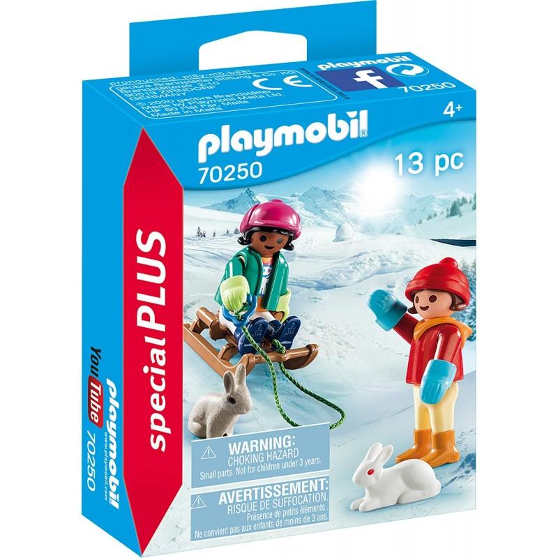 Playmobil Special Plus - Παιδάκια με Έλκηθρο (70250)
