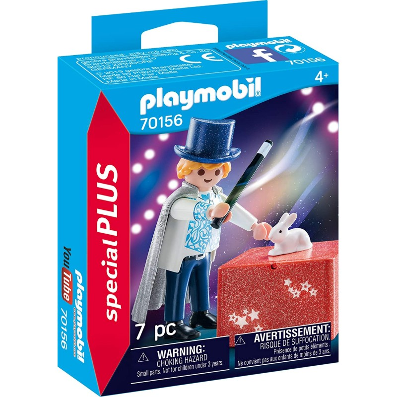 Playmobil Special Plus - Ταχυδακτυλουργός (70156)