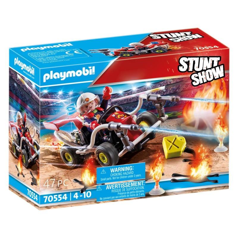 Playmobil Stunt Show - Γουρούνα Πυροσβεστικής 70554