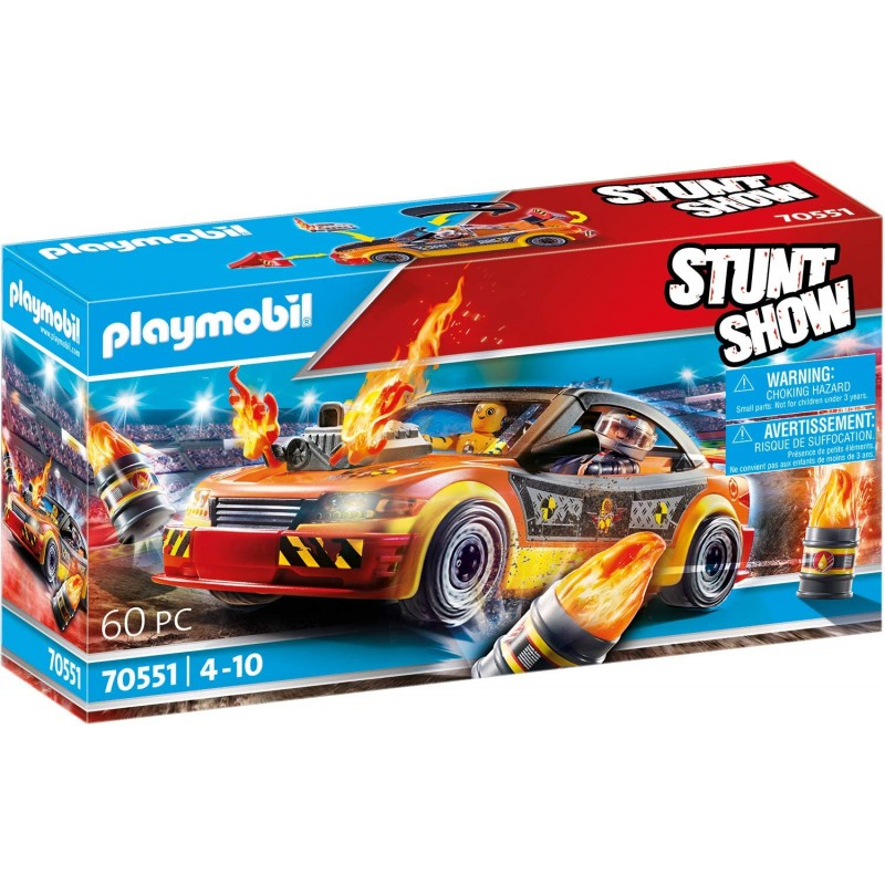 Playmobil Stunt Show - Όχημα Ακροβατικών (70551)