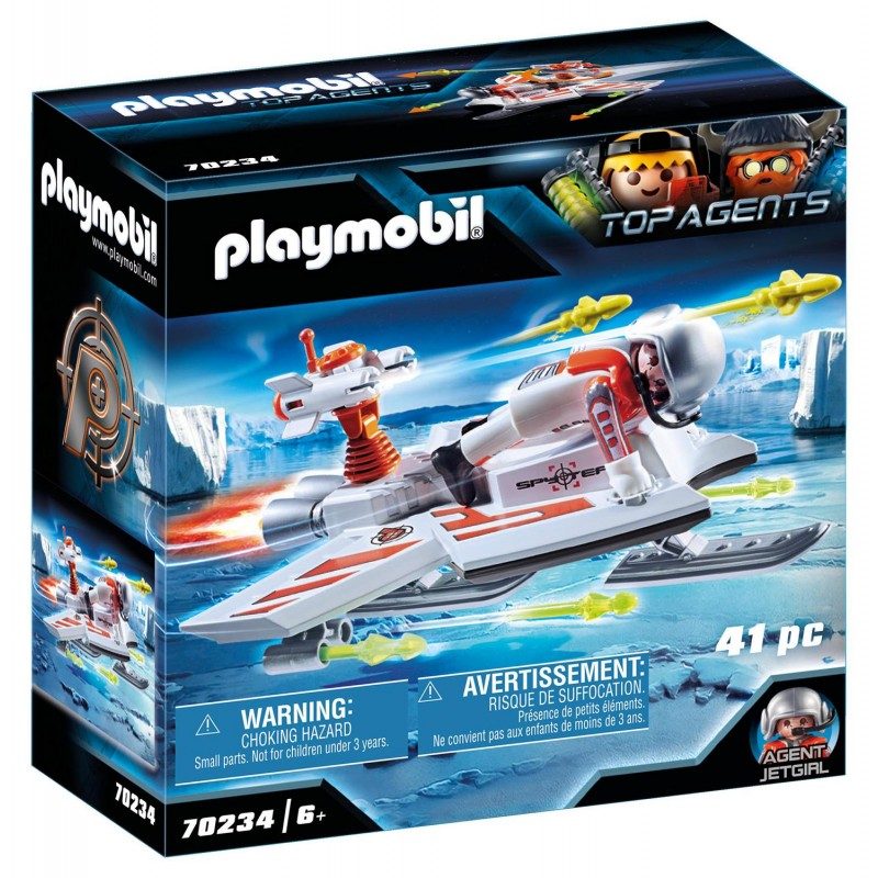 Playmobil Top Agents - Ice Jet της Spy Team (70234)