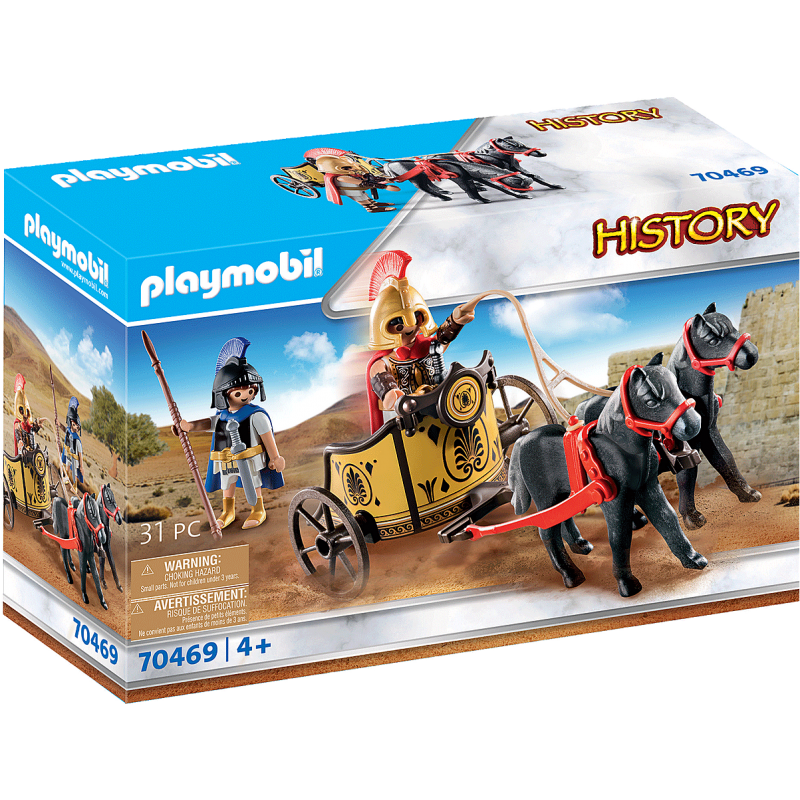 Playmobil History - Ο Αχιλλέας και Ο Πάτροκλος (70469)