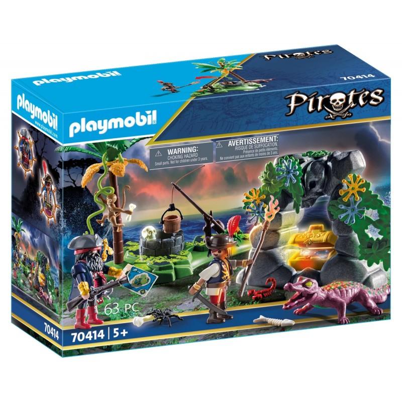 Playmobil Pirates - Κρυσφήγετο Πειρατών (70414)