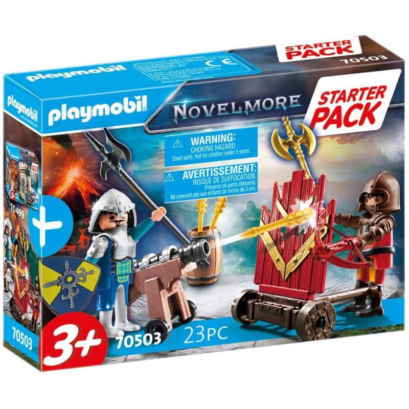 Playmobil Starter Pack - Μονομαχία του Novelmore (70503)