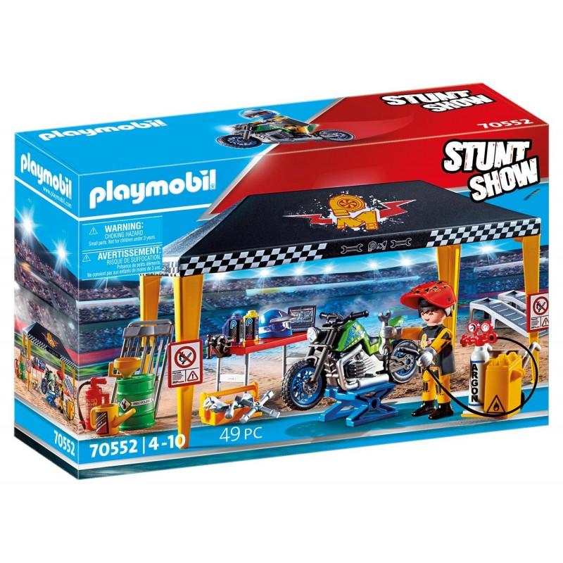 Playmobil Stunt Show - Σκηνή - Συνεργείο Επισκευών (70552)